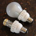 The CREE 60-watt equivalent LED light bulb