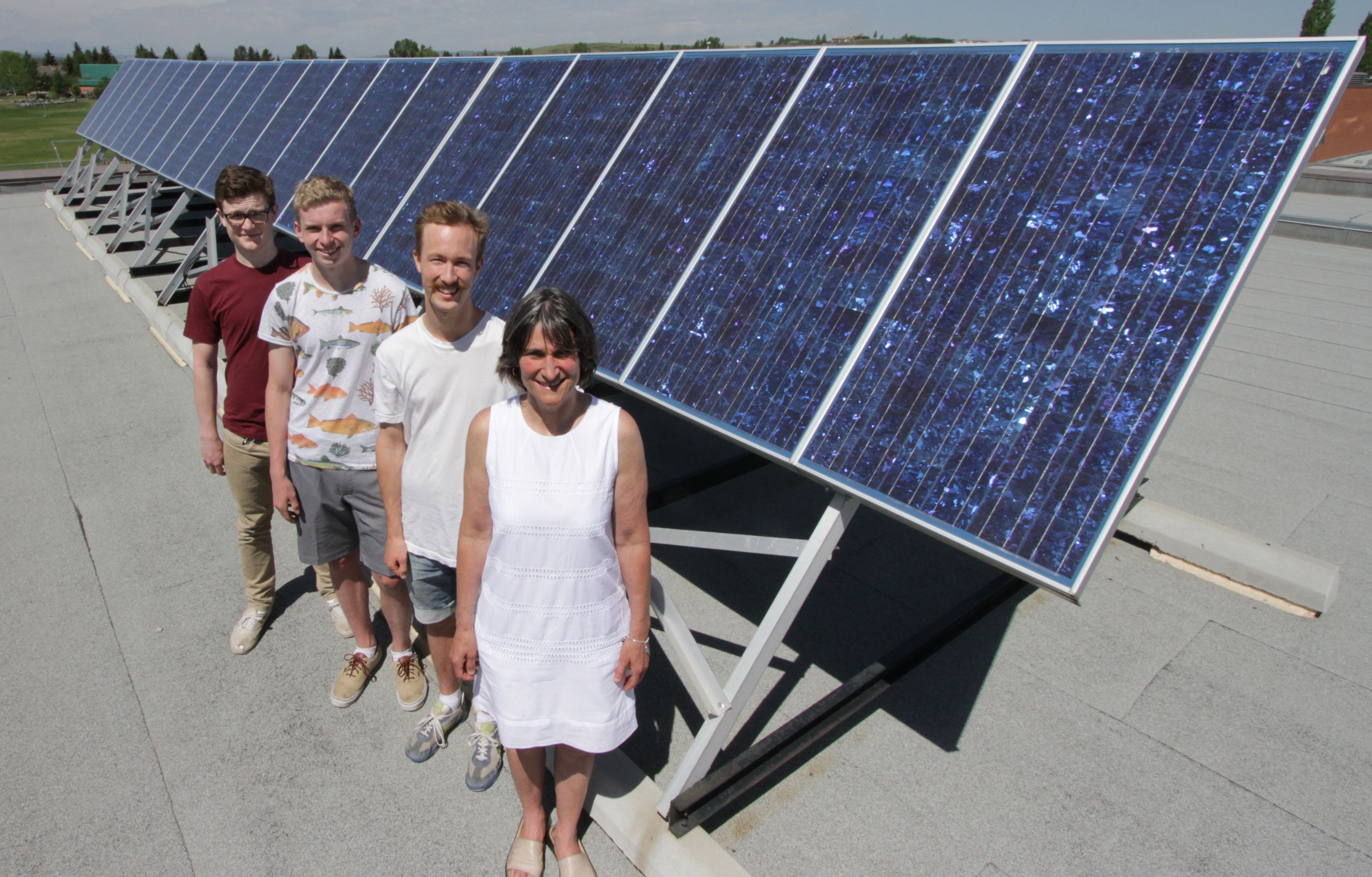 118 Cochrane Students Install Solar And Get New Town Policy