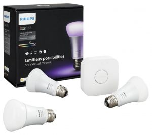 This is one of our favourite gifts at Green Energy Futures. The Phillips Hue starter kit comes with the bridge controller and three multi-coloured programmable bulbs that allow you to establish any mood you like. You can even import a photo from your favourite vacation spot in the world and Hue will paint your room in colours from the photo. The kit is a little pricy at $199, but it's a very special gift that is so much fun. Plus you can program your lights while you are away, set auto shut off modes for when the kids forget to turn off the lights.