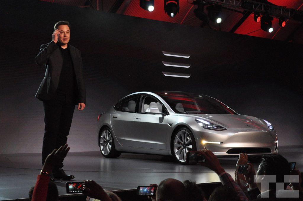 Elon Musk and the Tesla 3