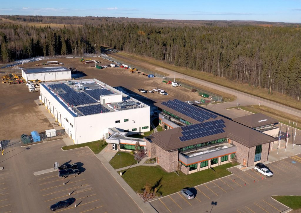 Brazeau County, Alberta – solar energy in oil and gas country