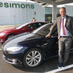 Peter Simons, CEO of Simons