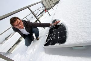Snow and solar