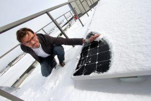 Snow and solar