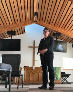Solar powered church