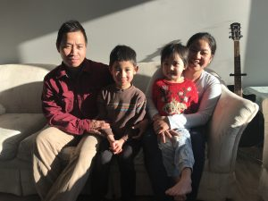 Hsar Keelar and her husband Pran Htoo formerly of Myanmar