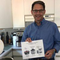 Ron Kube, energy efficiency cooking