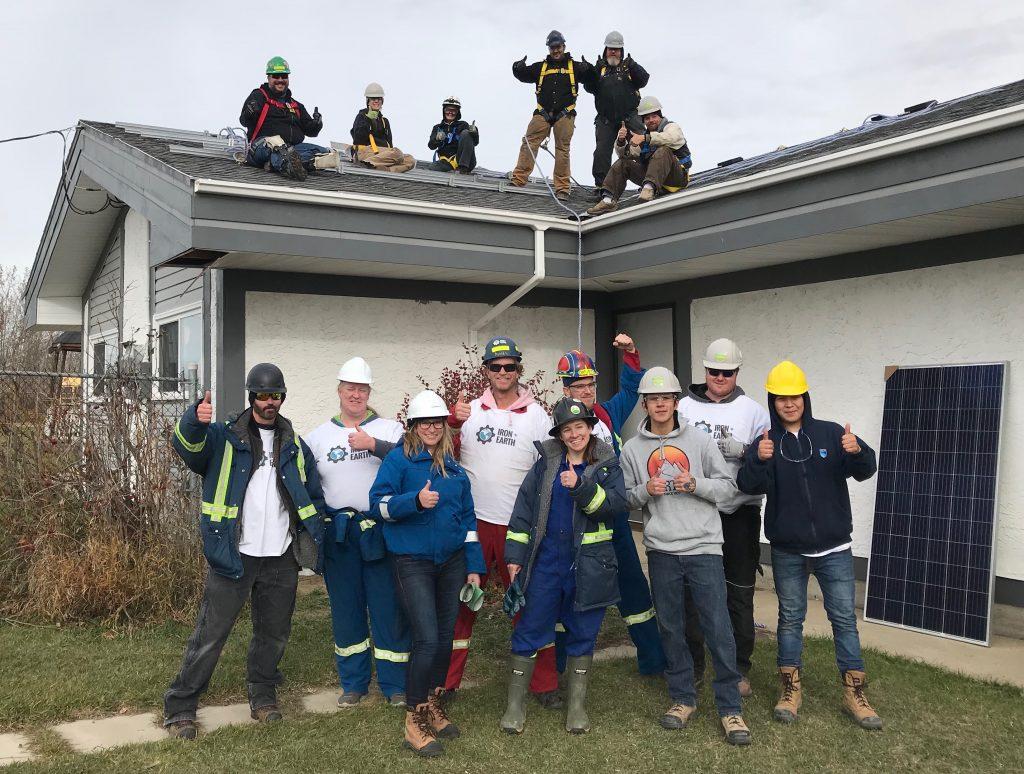 Louis Bull - Iron and Earth Solar Training